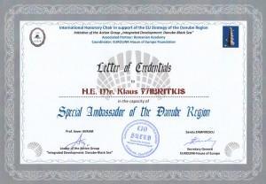 diploma dunarea